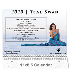 Frequency Wall Calendar - 2020