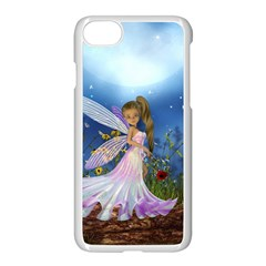 Little Fairy In The Night Iphone 7 Seamless Case (white) by FantasyWorld7