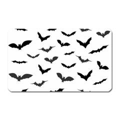 Bats Pattern Magnet (rectangular) by Sobalvarro