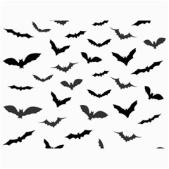 Bats Pattern Canvas 12  X 16  by Sobalvarro