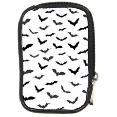 Bats Pattern Compact Camera Leather Case by Sobalvarro