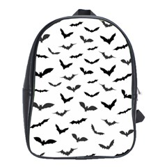 Bats Pattern School Bag (large) by Sobalvarro