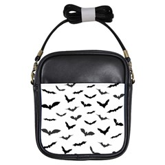 Bats Pattern Girls Sling Bag by Sobalvarro