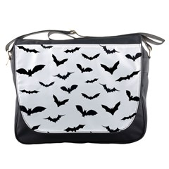 Bats Pattern Messenger Bag by Sobalvarro