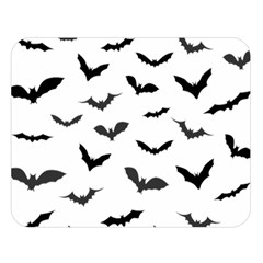 Bats Pattern Double Sided Flano Blanket (large)  by Sobalvarro