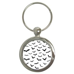 Bats Pattern Key Chain (round) by Sobalvarro