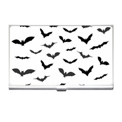 Bats Pattern Business Card Holder by Sobalvarro