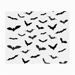 Bats Pattern Small Glasses Cloth by Sobalvarro