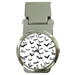 Bats Pattern Money Clip Watches by Sobalvarro
