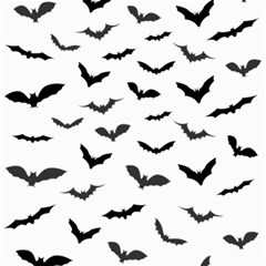 Bats Pattern Canvas 12  X 12  by Sobalvarro