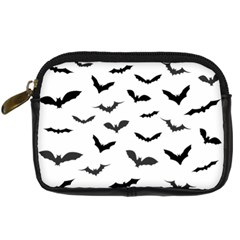 Bats Pattern Digital Camera Leather Case by Sobalvarro