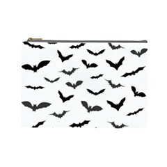 Bats Pattern Cosmetic Bag (large) by Sobalvarro