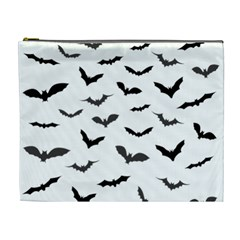 Bats Pattern Cosmetic Bag (xl) by Sobalvarro