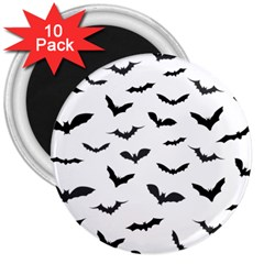 Bats Pattern 3  Magnets (10 Pack)  by Sobalvarro