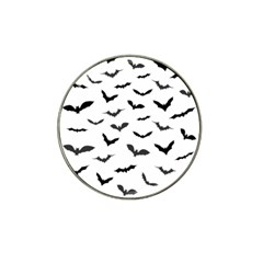 Bats Pattern Hat Clip Ball Marker (10 Pack) by Sobalvarro