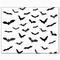 Bats Pattern Canvas 8  X 10  by Sobalvarro