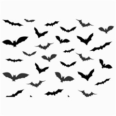 Bats Pattern Canvas 24  X 36  by Sobalvarro
