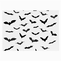 Bats Pattern Large Glasses Cloth (2 Sides) by Sobalvarro