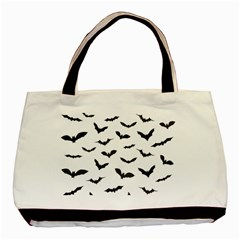 Bats Pattern Basic Tote Bag (two Sides) by Sobalvarro