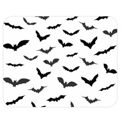 Bats Pattern Double Sided Flano Blanket (medium)  by Sobalvarro
