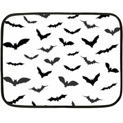 Bats Pattern Double Sided Fleece Blanket (mini)  by Sobalvarro