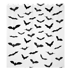 Bats Pattern Shower Curtain 66  X 72  (large)  by Sobalvarro