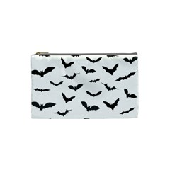 Bats Pattern Cosmetic Bag (small) by Sobalvarro