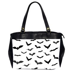 Bats Pattern Oversize Office Handbag (2 Sides) by Sobalvarro