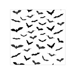 Bats Pattern Small Satin Scarf (square) by Sobalvarro