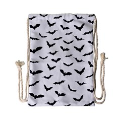 Bats Pattern Drawstring Bag (small) by Sobalvarro