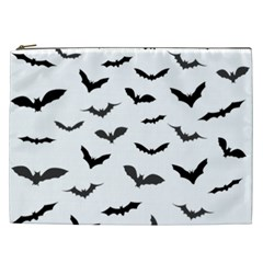 Bats Pattern Cosmetic Bag (xxl) by Sobalvarro