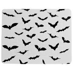 Bats Pattern Jigsaw Puzzle Photo Stand (rectangular) by Sobalvarro