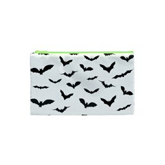 Bats Pattern Cosmetic Bag (xs)