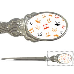 Pumpkin Faces Pattern Letter Opener by Sobalvarro