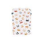 Pumpkin Faces Pattern Apple iPad Mini Protective Soft Cases Front