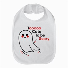 Too Cute To Be Scary Bib by Sobalvarro