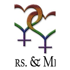 Mrs  And Mrs  Shower Curtain 48  X 72  (small)
