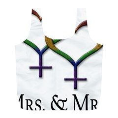 Mrs  And Mrs  Full Print Recycle Bag (l)