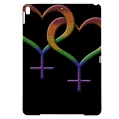 Mrs  And Mrs  Apple Ipad Pro 10 5   Black Uv Print Case by LiveLoudGraphics