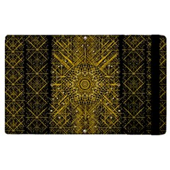 Stars For A Cool Medieval Golden Star Apple Ipad 2 Flip Case by pepitasart