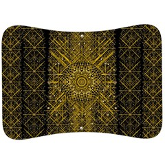 Stars For A Cool Medieval Golden Star Velour Seat Head Rest Cushion by pepitasart