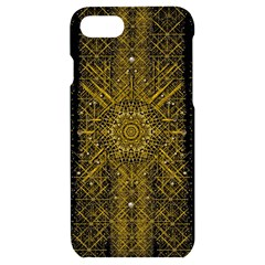 Stars For A Cool Medieval Golden Star Iphone 7/8 Black Uv Print Case by pepitasart