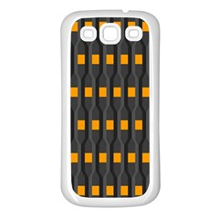 Pattern Illustrations Plaid Samsung Galaxy S3 Back Case (white)