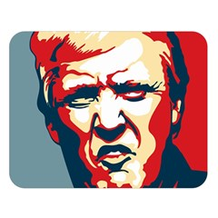 Trump Pop Art Double Sided Flano Blanket (large)  by goljakoff