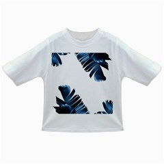 Blue Tropical Leaves Infant/toddler T Shirts