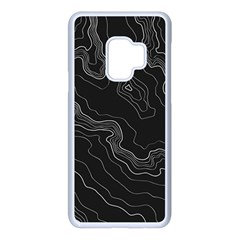 Topography Map Samsung Galaxy S9 Seamless Case(white) by goljakoff