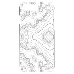Topography Iphone 7/8 Black Uv Print Case by goljakoff
