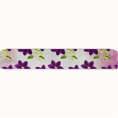 Purple Flower Small Bar Mats
