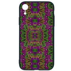 Peacock Lace In The Nature Iphone Xr Soft Bumper Uv Case by pepitasart