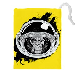 Spacemonkey Drawstring Pouch (5xl) by goljakoff